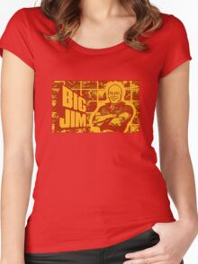 BIG JIM Women's Fitted Scoop T-Shirt
