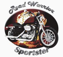 Harley Davidson Sportster Road Warrior Baby Tee
