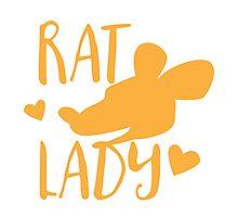Rat Lady Photographic Print