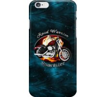 Harley Davidson Sportster Road Warrior iPhone Case/Skin