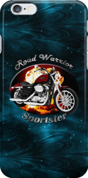 Harley Davidson Sportster Road Warrior by hotcarshirts