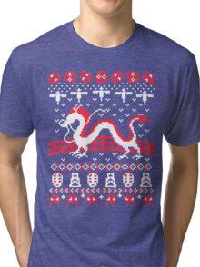 The Spirits of Christmas Tri-blend T-Shirt