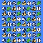 Animal Crossing Phone Case by Lauramazing