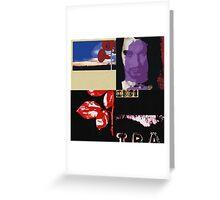 Depeche Mode Pop Art Greeting Card