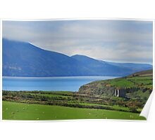 Overlooking Dingle Bay Poster