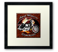 Harley Davidson Sportster Road Warrior Framed Print