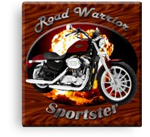 Harley Davidson Sportster Road Warrior Canvas Print