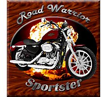 Harley Davidson Sportster Road Warrior Photographic Print