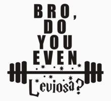 Bro, do you even leviosa? Kids Tee