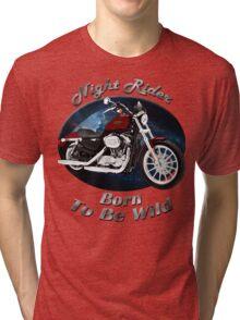 Harley Davidson Sportster Night Rider Tri-blend T-Shirt