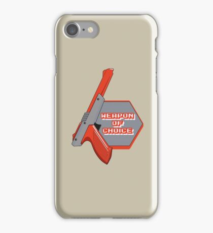 Weapon of Choice (Re-make) iPhone Case/Skin