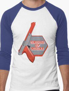 Weapon of Choice (Re-make) Men's Baseball ¾ T-Shirt