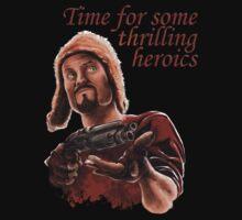 Jayne Cobb - Time For Some Thrilling Heroics T-Shirt