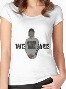 We Are // Purpose Pack // Women's Fitted Scoop T-Shirt