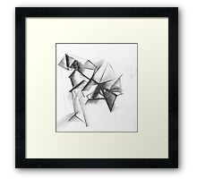 Abstract House Framed Print
