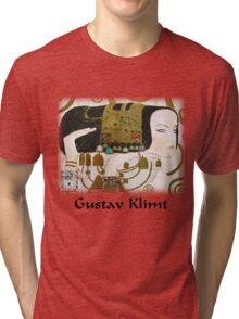 Gustav Klimt - Expectancy Tri-blend T-Shirt