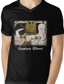 Gustav Klimt - Expectancy Mens V-Neck T-Shirt
