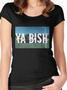 Kendrick Lamar - Ya' Bish Women's Fitted Scoop T-Shirt