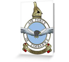 Emblem of the Zimbabwe Air Force  Greeting Card