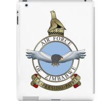 Emblem of the Zimbabwe Air Force  iPad Case/Skin
