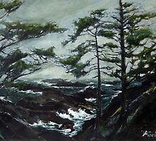 WILD  PACIFIC TRAIL ( UCLUELET ) by Doria Fochi