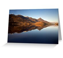 Loch Leven Highlands Greeting Card