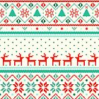 Festive FairIsle by Tracie Andrews