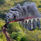 The Jacobite train by cieniu1