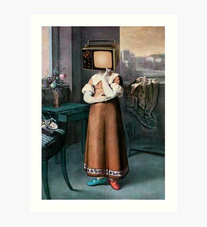 Freudian Slip. Art Print