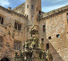 King's Fountain, Linlithgow Palace. Scotland by Miles Gray