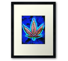 Hemp Lumen #10 Marijuana/Cannabis Framed Print