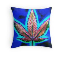 Hemp Lumen #10 Marijuana/Cannabis Throw Pillow
