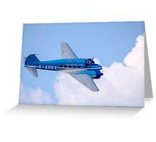 Avro Nineteen Anson Greeting Card