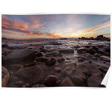 Rocks - Lake Tahoe Poster