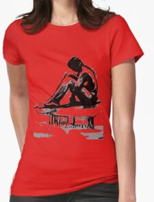 Girl2 Womens Fitted T-Shirt