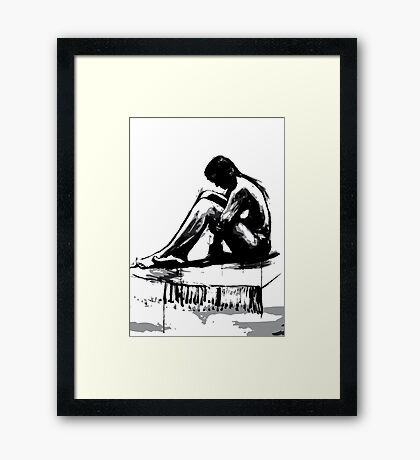 Girl2 Framed Print