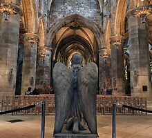 Angel: St Giles Cathedral, Edinburgh by Miles Gray