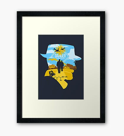 Extremely Volatile Framed Print