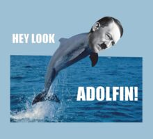 Adolfin Comedy T-shirt  by Goldenshot