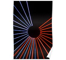 Red v. Blue Poster