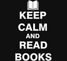 Keep Calm and Read Books Unisex T-Shirt