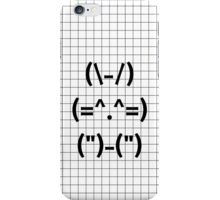 Cute Bunny Ascii Art [IPHONE/IPAD/IPOD] iPhone Case/Skin