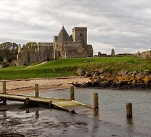 Inchcolm Abbey, The Firth of Forth. Scotland by Miles Gray