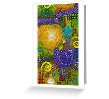 The Angel of Good Thoughts Greeting Card