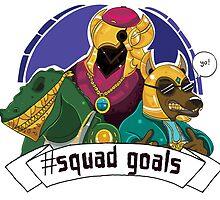 Shurima Squad Goals by DeePeeIllustr