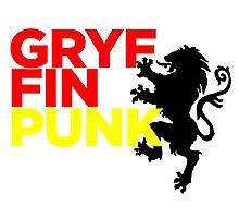 GryffinPUNK - Gryffindor Photographic Print