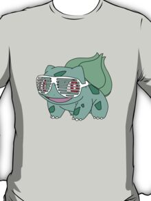 Bulbasaur Shutter Shades T-Shirt