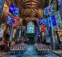 St Giles Cathedral: Interior 2 by Miles Gray
