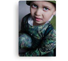 Lil Soldier Canvas Print