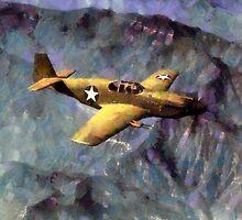 P-51 Mustang by Kai Saarto
